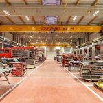 Licht in Industriehallen