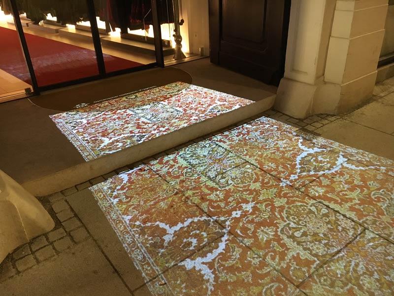Virtuelle Teppiche