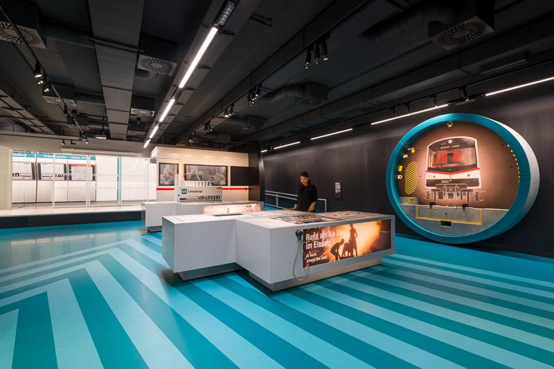 Ausstellung zum U-Bahnbau