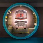 Unterirdische Ausstellung zum Bau- und Betrieb einer U-Bahnlinie