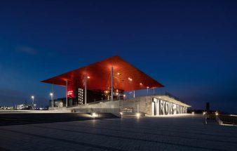 Architektonische Inszenierung Amphitheater