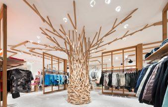 Baumskulptur statt Warendichte