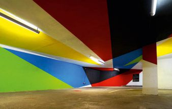 Farben in der Garage
