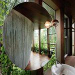 Baumhaus aus Beton – Sun Path House