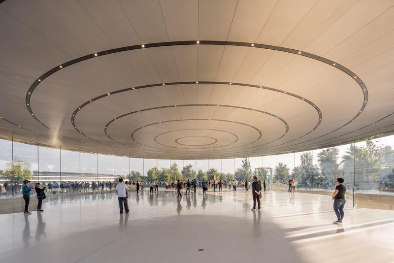 Apple Theater Solardach