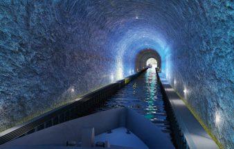 """Ein Tunnel für Schiffe – """"Stad See"""""""