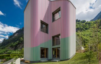 Wohnkunst in den Schweizer Alpen – Haus Rossa