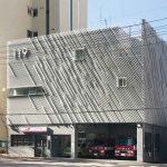 Fassade statt roter Farbe – Myeonmok Fire Station
