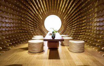Spirituelle Architektur – ONE Teahouse