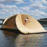 Schwimmendes Holzsystem – DaeWha Kang Design