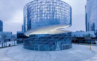 Rotierende Bühne – China Textile Center