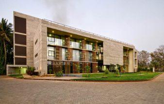 Grüner Brutalismus in Indien – Elantas Beck India