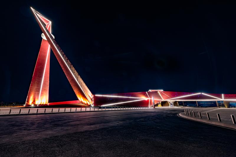 Qingdao China Brücke
