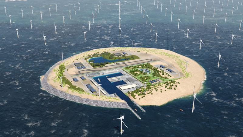 Windfarm Rendering