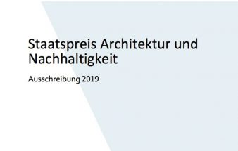 Staatspreis Architektur 2019