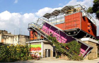 Parasite architecture – Containerbau