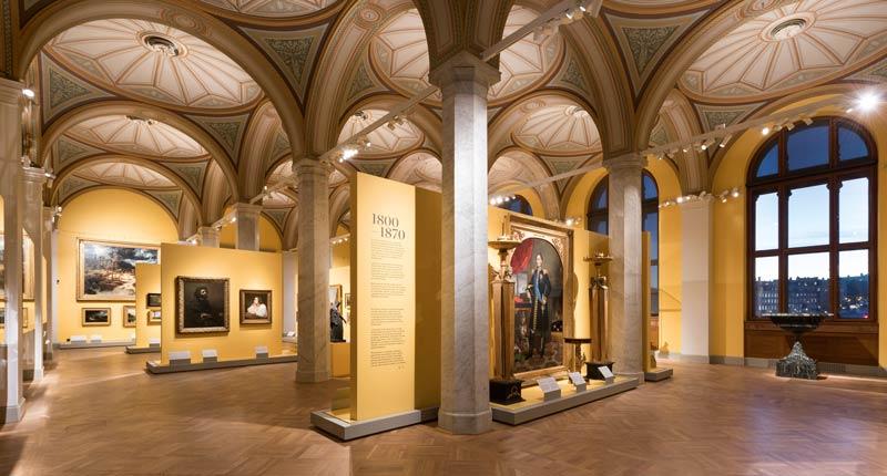Ausstellungsstücke Nationalmuseum Stockholm
