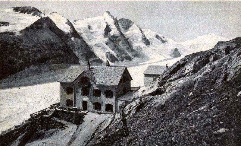 Kaiser Franz Josef Haus vor Pasterze um 1920