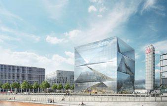 Glashaut mit Innenleben – cube berlin