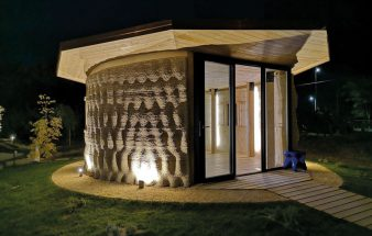 Aus der Erde gedruckt – 3D Rice House