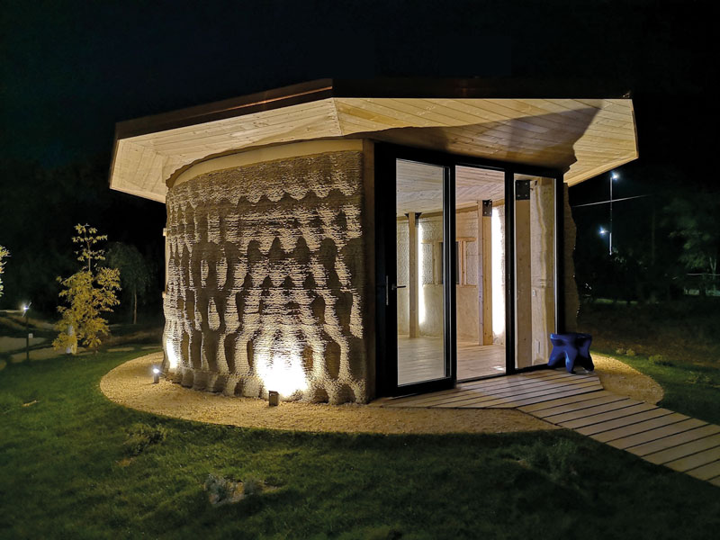 3D-Rice House printed-house