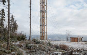 Die Ansicht der Landschaft – Aussichtsturm