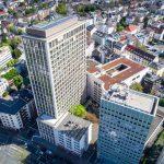 Solargekühltes Gebäude in Frankfurt