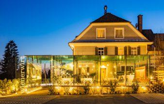 Der Raucherpavillon im Wienerwirt in Graz