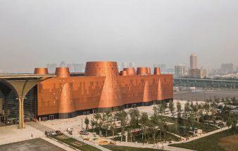Ein großer Raketenstadl – Binhai Science Museum