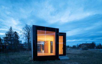 Monomaterielle Bauweise aus Holz – IBA