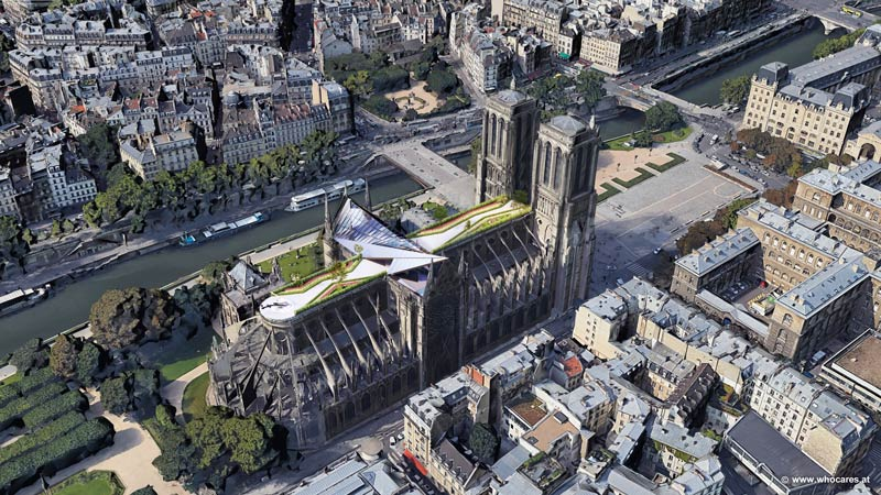 Notre-Dame Rendering