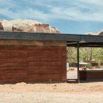 Erdmaterial – Wuestenort Bluff in Utah