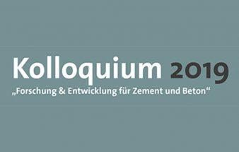 Kolloquium 2019 –  Zement und Beton
