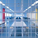 Ein Büro aus Bewehrungsstahl – Büro in Tokyo