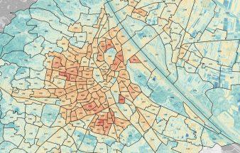 Wo Abkühlung in Wien notwendig ist – Hitzekarte