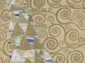 """BILD zu OTS - Gustav Klimt (1862-1918), Entwurfszeichnung für den Mosaikfries im Speisezimmer des Palais Stoclet, """"Erwartung"""", 1910/11, MAK-Schausammlung Wien 1900"""