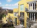 Wohnprojekt GuglMugl, Aussenansicht; Architekt: Fritz Matzinger (2000)