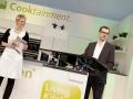 Preisverleihung Coffee Innovations Award 2013, Cooktainment Area, Passage 4/5. Begruessung und Danksagung des Veranstalters, Herr Daniel Rohlfing.
