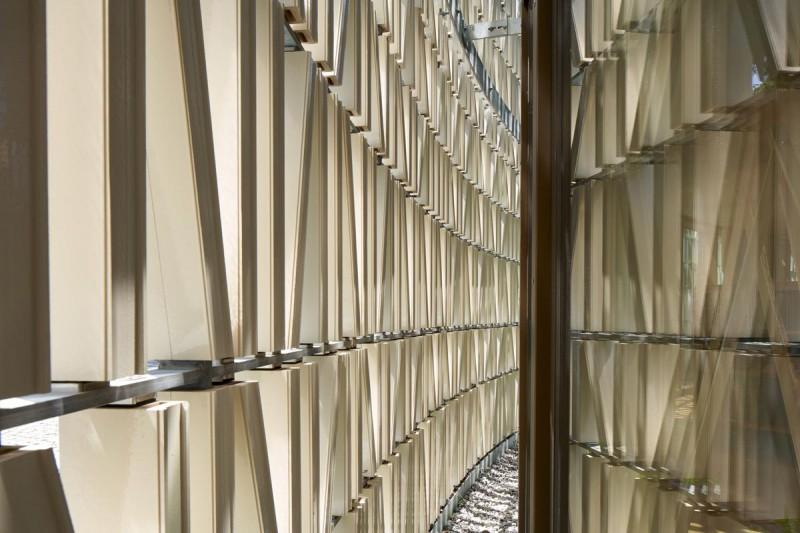 Außenansicht, Fassadenzwischenraum