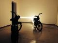 """Arbeit von Markus Taxacher für die Ausstellung """"random thoughts of a daily light"""" im Kunstverein das weisse haus"""