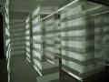 """Die Arbeit """"Lightroom"""" von Tim Roßberg für die Ausstellung """"random thoughts of a daily light"""" im Kunstverein das weisse haus."""