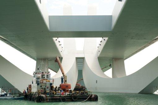 Scheich Zayed Brücke Zara Hadid