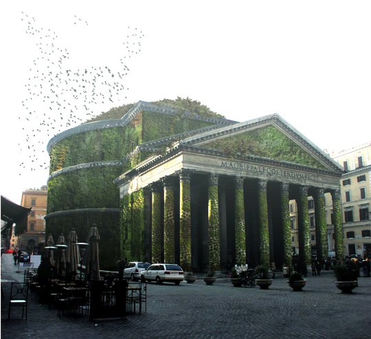 Eco-Pantheon, Rome 126AD