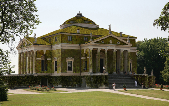 Eco-friendly Villa La Rotonda, Vicenza – Palladio, 1566