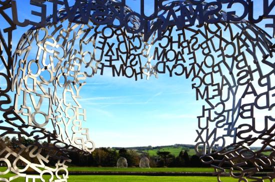 Wort(t)räume - Jaume Plensa
