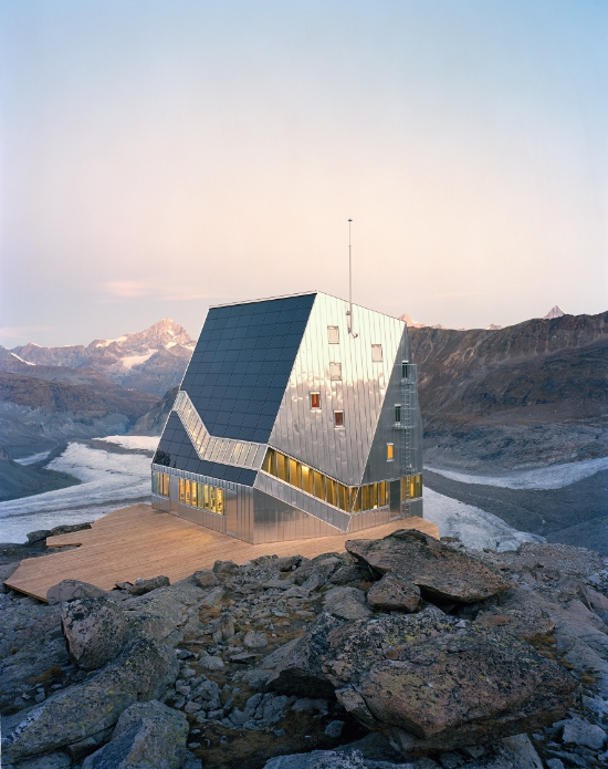 Neue Monte Rosa Hütte, Wallis/CH, ETH Studio Monte Rosa, Bearth & Deplazes Architekten