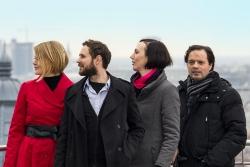 v.l.n.r.: Jasmine Blaschek, Patrick Jaritz, Marion Gruber, Christian Kronaus