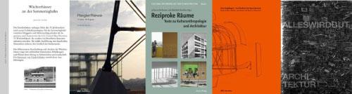 Cover der Buchwoche im Haus der Architektur