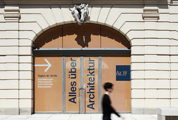 Architekturzentrum Wien Außenansicht