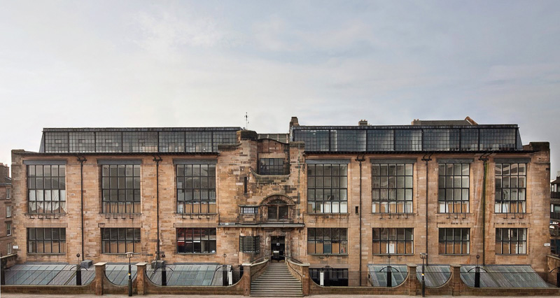 lrMackintosh Building full facade - photocredit Alan McAteer